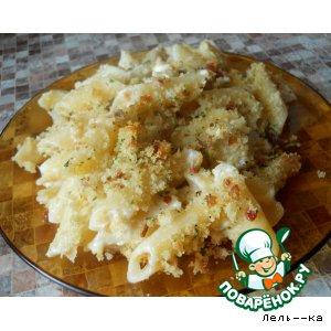 Рецепт Запеканка из цветной капусты и макарон