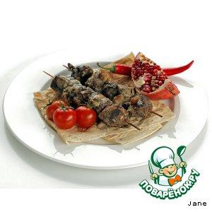 Рецепт: Шашлык из баранины