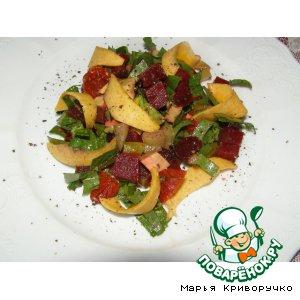 Рецепт: Салат со свеклой и авокадо