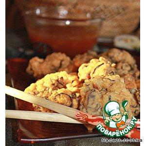 Рецепт: Закуска Древесные ушки в кляре