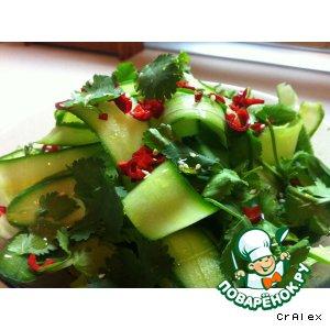 Рецепт: Салат из огурца