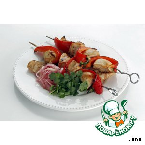 Рецепт: Куриный шашлык