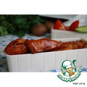 Рецепт: Курица в медовой глазури