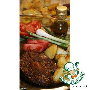 Рецепт: Мясо тясю
