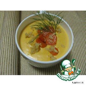 Рецепт: Суп-пюре из моркови