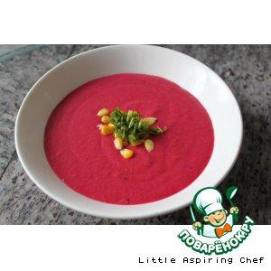 Рецепт Свекольный суп на кокосовом молоке