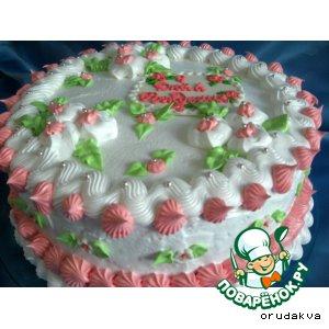 Рецепт: Торт «Нежность»