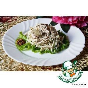 Рецепт: Салат из курицы и сельдерея