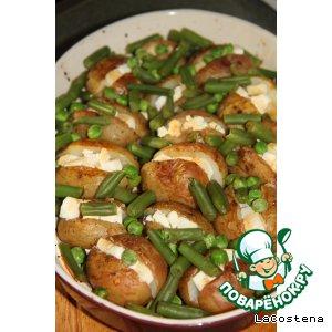 Рецепт: Печеный картофель Лето