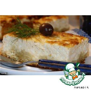 Рецепт Открытый сырный пирог(Тиропита) + рецепт теста Фило
