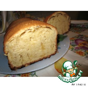 Рецепт: Сливочно-сырный кекс