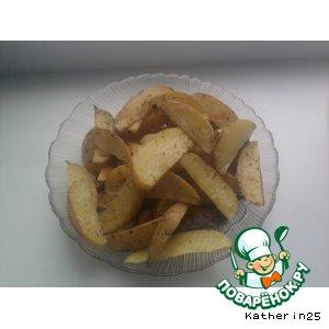 Рецепт: Запеченный картофель по рецепту Лауры Колдер