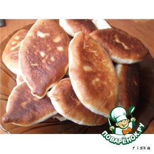 Рецепт: Пирожки Манзари