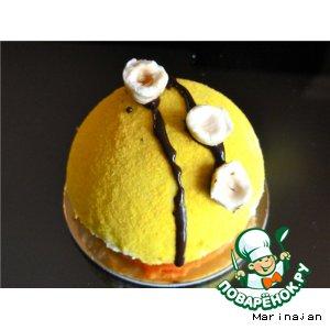 Рецепт: Пирожное Лимон Citron от Садахару Аоки