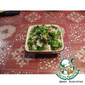 Рецепт: Салат С огорода прямо на стол