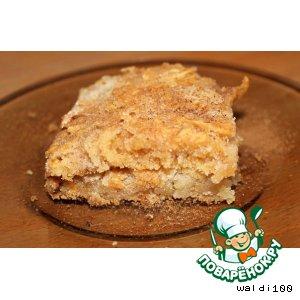 Рецепт: Яблочный пирог без яиц
