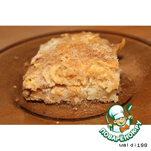 Пирог с яблоками рецепт из яиц