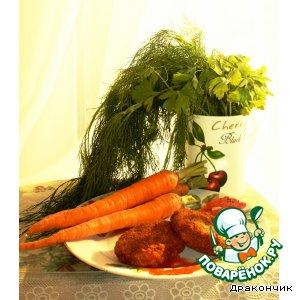 Рецепт: Витаминные морковно-ореховые котлеты
