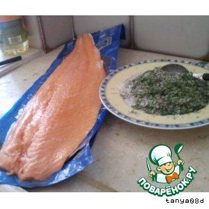 Рецепт: Соленая семга