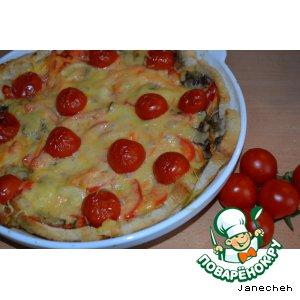 Рецепт: Запеканка Овощная