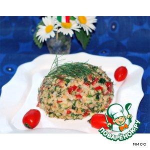 Рецепт: Итальянский хлебный салат
