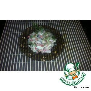 Рецепт: Салат с рапанами