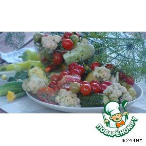 Рецепт: Маринованные овощи
