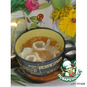Рецепт: Суп с блинчиками