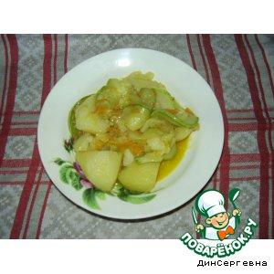 Рецепт: Рагу овощное дачное Соус по-ростовски