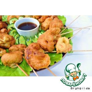 Рецепт: Овощная темпура