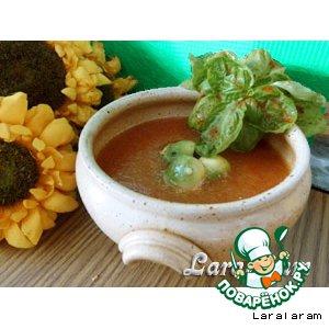 Рецепт: Летний суп У каждой мучачи свой гаспачо