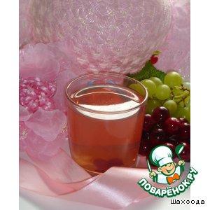Рецепт: Клюквенно-виноградный компот Вкус настроения
