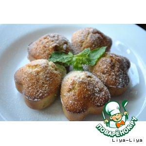 Рецепт: Маффины с инжиром и орехами