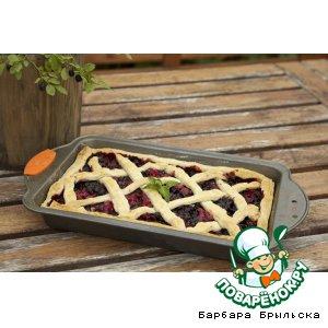 Рецепт: Летний ягодный пирог