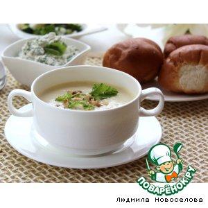 Рецепт: Крем-суп Летний день