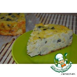 Рецепт: Запеканка-торт из цветной капусты