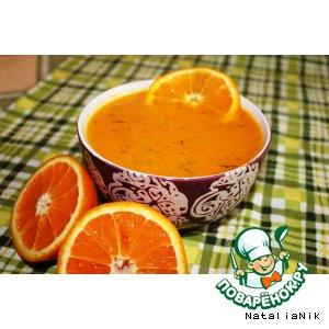 Рецепт: Суп-пюре Оранжевое лето