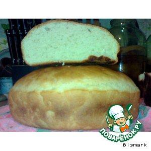 Рецепт: Хлеб домашнего приготовления