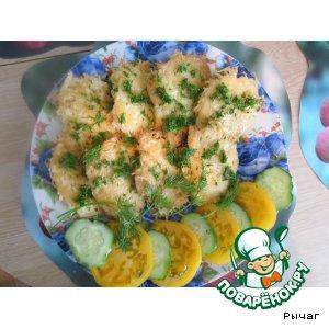 Рецепт: Оладьи из вермишели с сыром
