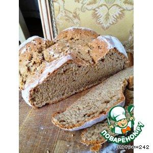 Рецепт: Быстрый пшенично-ржаной хлеб