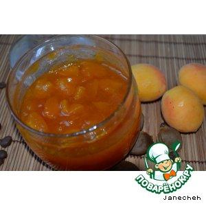 Рецепт: Варенье из абрикосов с кофе