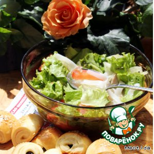 Рецепт: Летний суп-салат Лаосский акцент