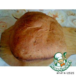 Рецепт: Ржаной хлеб в хлебопечке