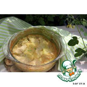 Рецепт: Запеканка из картофеля и капусты