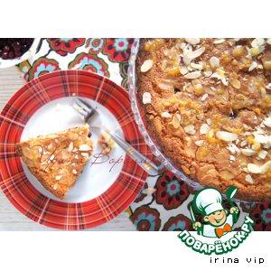 Рецепт: Клюквенный пирог Бейквелл