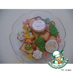 Рецепт: Не слишком имбирное печенье
