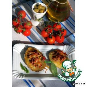 Рецепт: Картофельная брускетта