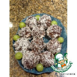 Рецепт: Орехово-шоколадное наслаждение
