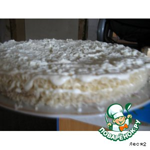 "Рецепт Салат-торт ""Королевский"""