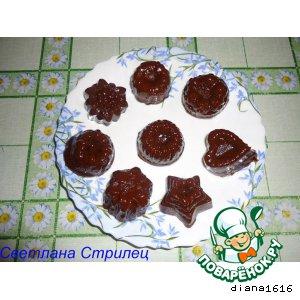 Рецепт: Шоколадные ириски